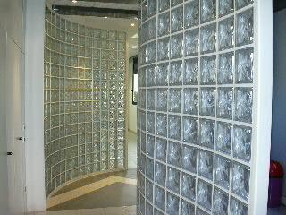 Vetromattone vetrocemento mattone in vetro parete in vetro